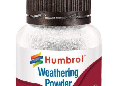 humbrol weathering powder white