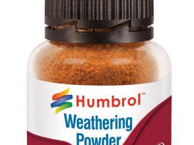 Humbrol weathering powder rust